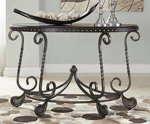 NEW Ornate Sofa Table
