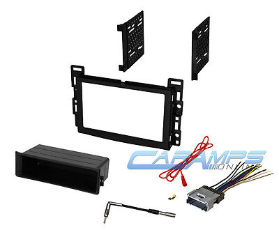 best deals on 2005 chevy equinox radio superoffers com car stereo radio receiver dash installation mounting kit w wiring harness plug