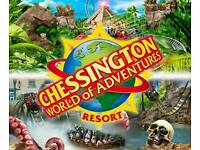 Chessington tickets for 5th October 2017