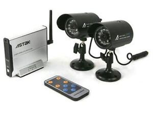 Astak-CM-818C2-Wireless-Security-Surveillance-Camera-Kit-Indoor-Outdoor-Set-of-2