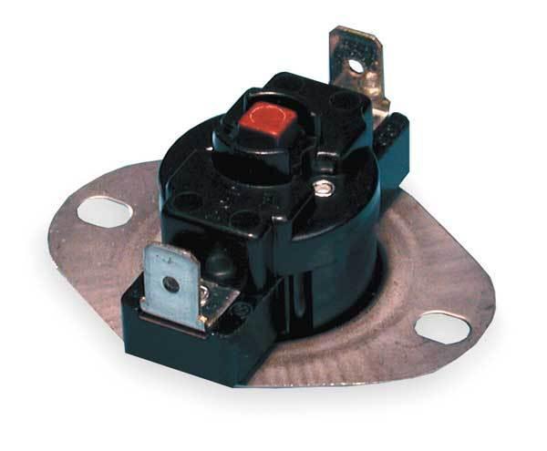 47-25118-01 Rheem Ruud Hi Limit Switch L160 Manual Reset Gas Furnace Instruction