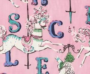 Dear Stella Carousel 154 Lite Pink Blush 100% cotton fabric by the yard