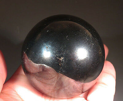 "50 mm (1.9"") Natural Hematite Sphere Crystal Ball"