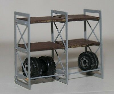 445K Simplon Model HO (1:87) Scaffale per officina compresa dima per mont.