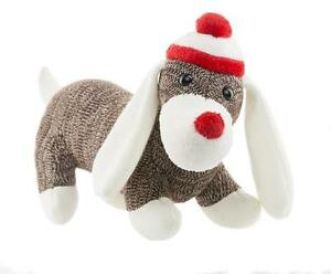 WEBKINZ-KNIT-SOCK-DOG-New-with-Sealed-Tag