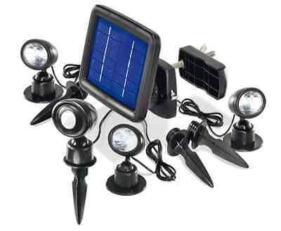 Spotlight LED Outdoor with Sensor Energy Solar for the Garden Light Panel
