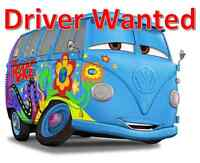 Driver needed (with van or SUV) $500 weekly + bonuses