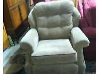 Settee and chair Gplan