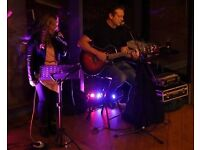 Acoustic Duo playing Classic and Modern Covers for ALL Events