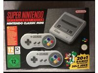 SNES Mini New Boxed