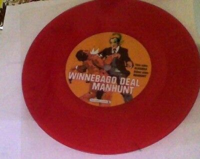 Winnebago Deal manhunt red vinyl 7""