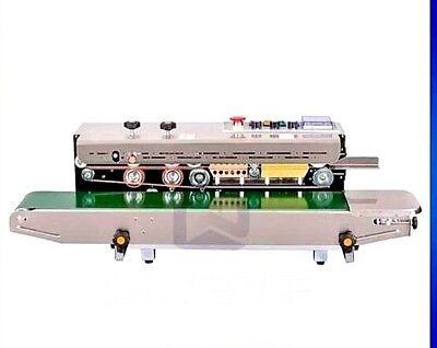 Industrial 220 Volt Frd-1000 Continuous Band Horizontal Bag Sealer Ink Coder