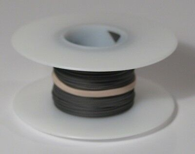 30 Awg Kynar Wire Wrap Ul1423 Solid Wiremod Type 100 Foot Spools Gray New
