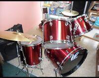 5 piece Westbury drums