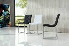 White Dining Room Chair - Modern - BRAND NEW