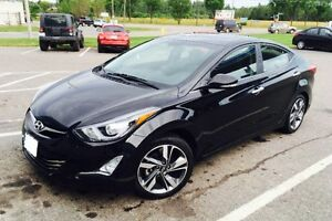 2014 Elantra Limited- VERY LOW KM, SUNROOF, LEATHER, WARRANTY