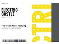 Electric Castle Festival 2017 - 4 Day With Camping - Romania £145