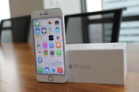 I phone 6 64 gb silver like new unlocked to any sim