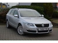 VW Passat 2.0 TDI Automatic 2008 *1Owner F.S.H*