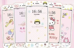 Special phone film with stickers