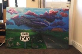 Painting - Route 66