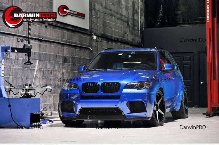 2008-2014 Bmw X5m X6m Va Style Carbon Fiber Front Lip Spoiler Body Kit