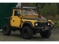 **Price Drop!** Defender 200tdi, off roader, tray back, monster, Land Rover, modified