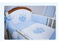 Complete cot bed set