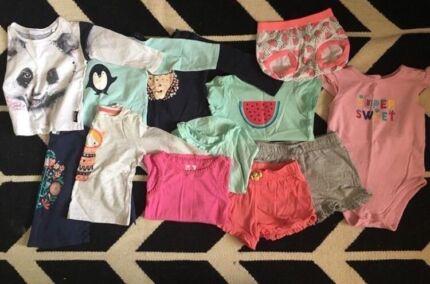Size 1 girls bulk pack