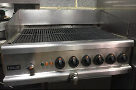 Lincat opus 700 electric chargrill