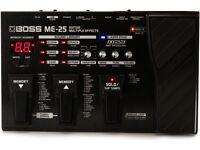 Electric Guitar Effect Boss ME-25