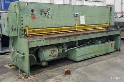 Htc-model U37 38 X 12 Hydraulic Power Squaring Shear