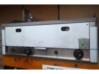 RM GASTRO GRIDDLE 2 burner Nat Gas model FTH60G Snack Line BRAND NEW