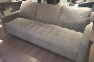 Structube grey 3 seater couch, great condition!