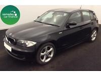 £162.70 PER MONTH BLACK 2009 BMW 118D 2.0 SPORT 5 DOOR DIESEL MANUAL