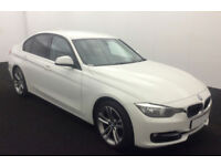 White BMW 318d Sport Manual 2014FROM £57 PER WEEK!