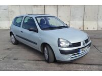 2003 RENAULT CLIO Expression 1.2 Petrol Manual 5 Speed 3 Door Hatchback