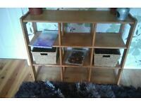 Hall open shelf unit