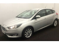 Ford Focus Titanium FROM £45 PER WEEK!