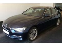 Blue BMW 320 2.0TD auto 2013 d Luxury FROM £51 PER WEEK!