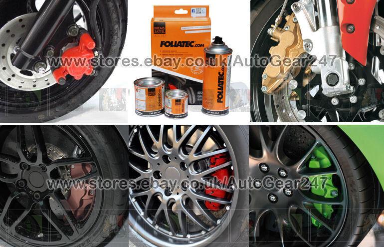 foliatec ft blue high temperature brake caliper engine paint lacquer kit set