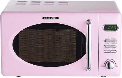 WOLKENSTEIN Mikrowelle 700W Pink 26x45cm WMW720 SP
