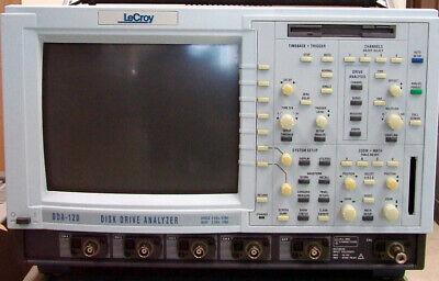 Lecroy Dda-120 Oscilloscope Digital Disk Drive Analyzer Single 5gss 16mpts Quad