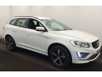 WHITE VOLVO XC60 2.4 D4 AWD R DESIGN LUX  2.0 SE 2WD G/T FROM £119 PER WEEK!