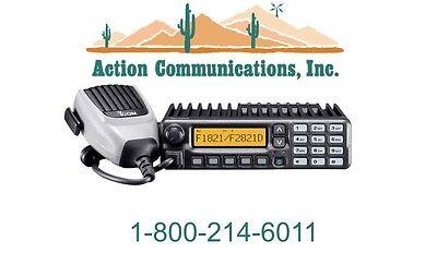 New Icom Ic-f2821d-23 Uhf 400-470 Mhz 45 Watt 256 Ch Analog Two Way Radio