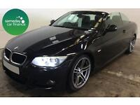 £244.31 PER MONTH 2010 BMW 320 2.0 TD M SPORT CONVERTIBLE DIESEL MANUAL