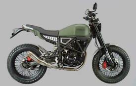 Herald Brat 125 cc Motorcycle