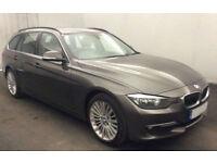 Havanna Grey BMW 318 2.0TD Touring 2015 d Luxury FROM £41 PER WEEK!