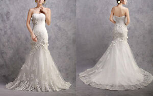 High quality Wedding Dress @$299 ONLY (custom made & brand new) London Ontario image 10