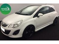 £116.76 PER MONTH WHITE 2011 VAUXHALL CORSA 1.2 LIMITED EDITION 3 DOOR PETROL